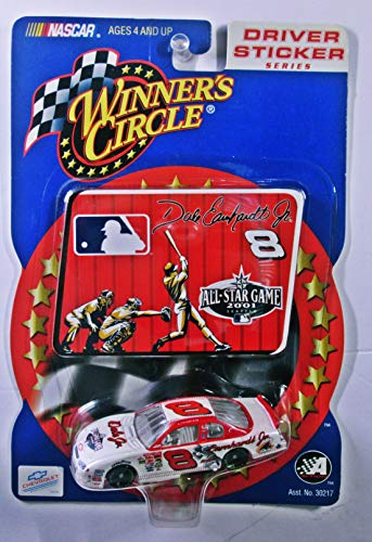 Winners Circle 2001 All Star Game MLB Dale Earnhardt Jr. #8 Scale die cast Nasar Driver Sticker Series