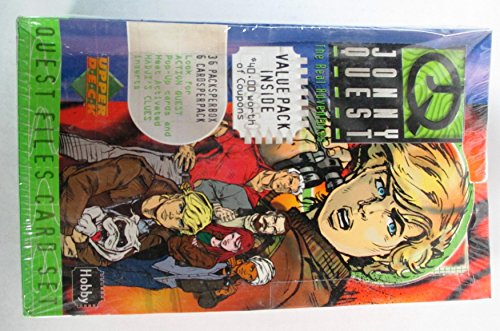 Jonny Quest The Real Adventures Trading Cards Box Set - 36 Packs by Jonny Quest
