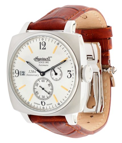 Ingersoll Men Watch Galesburg Limited Edition brown IN8014SL