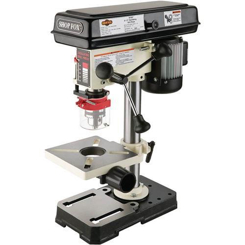 Shop Fox W1667 1/2 HP 8-1/2-Inch Bench-Top Oscillating Drill Press