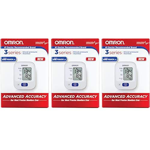 Omron 3 Series Automatic Blood Pressure Monitor - Model BP710N (Value Pack of 3)
