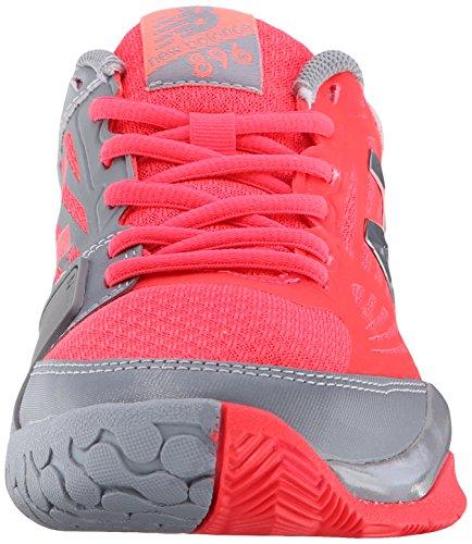 Nuovo Equilibrio Womens Wc896 Leggero Scarpa Da Tennis Scarpa Da Tennis Rosa / Grigio