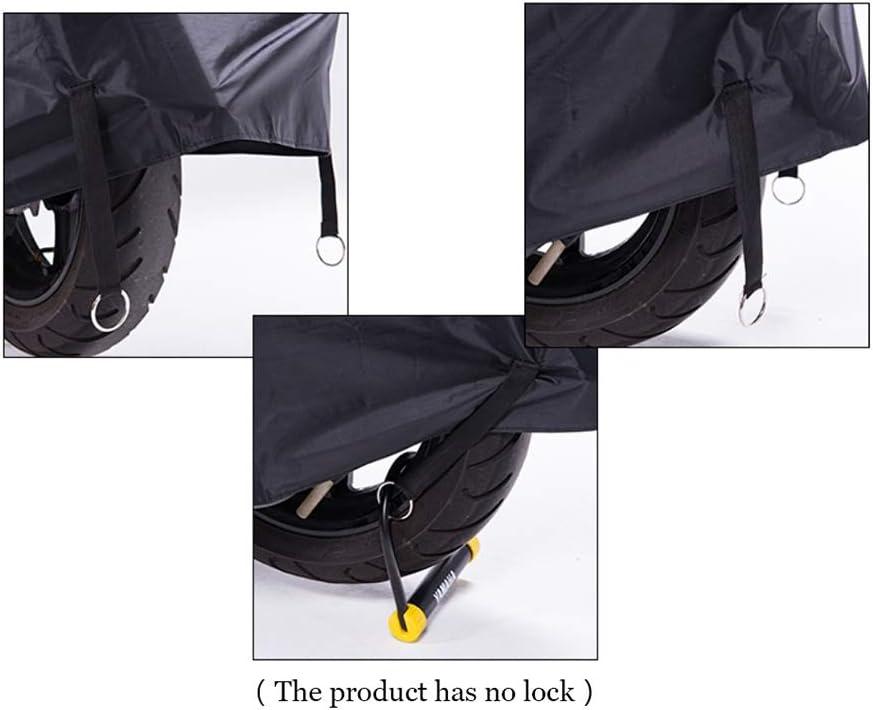 universal Motorradabdeckung Size : L schwarz Sonnenschutz Winddicht regendicht staubdicht HWHCZ Motorradabdeckungen Kompatibel mit dem Motorrad Abdeckung RIEJU MRT 50 SM 240 * 100 * 125CM