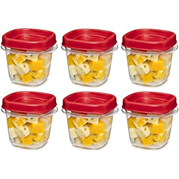 Amazoncom Rubbermaid Easy Find Lid Square 12 Cup Food Storage
