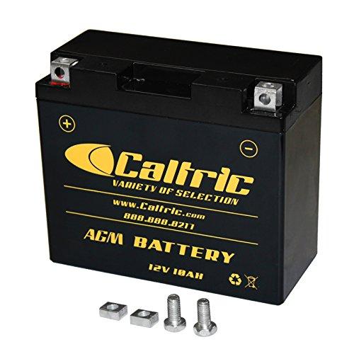 CALTRIC AGM BATTERY Fits YAMAHA XVS650 XVS-650 V-STAR 650 CUSTOM 1998-2011 2013 2014 2016