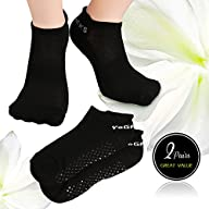 Matymats Grippy Yoga Socks Non Slip with Silicone Dot for Pilates, Barre, Bikram