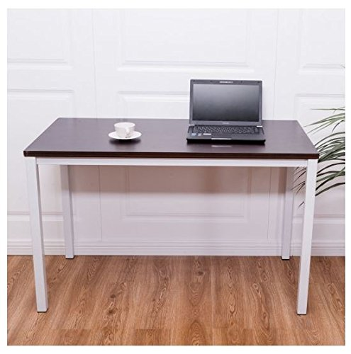 MD Group Computer Table Modern Wooden Compact Style Multifunctional Writing Table Workstation by MD Group