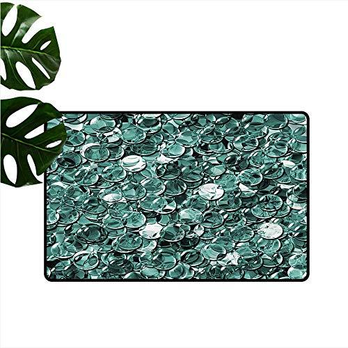 Pet Door mat Pearls Ball Shapes Monochrome Antifouling W30 xL39