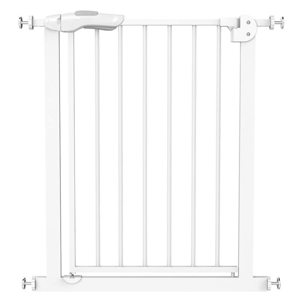 6674cm Pet Safety Gate, Stairway and Hallway Gate for Baby Dog Cat or Other Pets with no threshold and one-hand operation