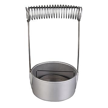 Cepillo de lavado, pintura de acero inoxidable cepillo limpiador arandela con secado Rack