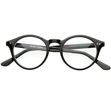 f960da5212 Glasses neutral KISS - style MOSCOT mod. WAVE Johnny Depp - optical frame  Light RETRO man woman unisex - BLACK  Amazon.co.uk  Clothing