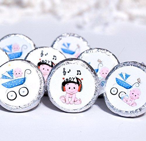 Amazon Boy Baby Shower Supplies Boy Stickers For Hershey