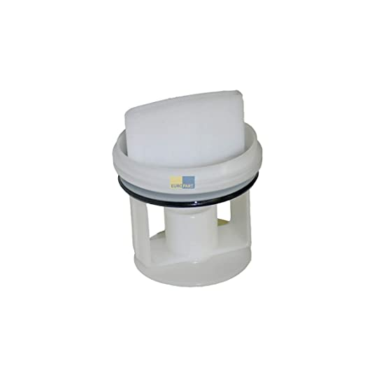 vioks – Filtro antipelusa Colador Filtro para eliminar Infusor Colador para bomba como lavadora compatible con Bosch Siemens 00605010 63 x 74 mm