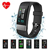 Fitness Tracker Watch, Color Screen Activity Tracker Watch with Heart Rate Monitor IP67 Waterproof Smart Wristband with Blood Pressure Monitor Sleep Monitor Pedometer for Kids Women Men (i7 Plus)