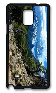 MOKSHOP Adorable incredible landscape Hard Case Protective Shell Cell Phone Cover For Samsung Galaxy Note 4 - PCB