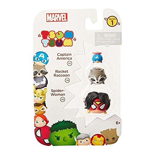 Tsum Marvel 3 Pack Captain America