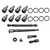 for Ford 6.0L Updated Stand Pipe & Dummy Plugs + High Pressure Oil Rail Repair Kit