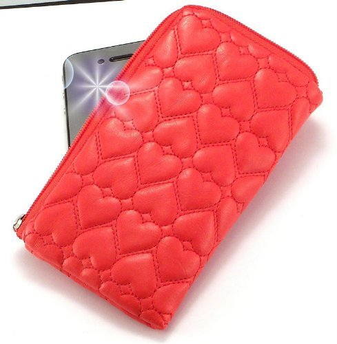 Miss Luxurious Padded Wallet / Holder with Carrying Strap with