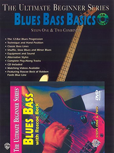 Ultimate Beginner Blues Bass Basics Mega Pak (Book, CD & DVD) (The Ultimate Beginner Series)