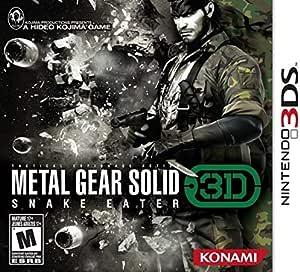 Metal Gear Solid Snake Eater 3D (PAL)