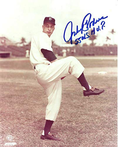 Johnny Podres Autographed/Signed Brooklyn Dodgers 8x10 Photo WS MVP ()