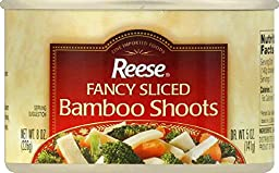 Reese Sliced Bamboo Shoots, 8-ounces (Pack of12)