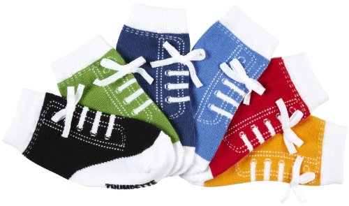 Trumpette Johnny's Sneaker Socks   Brights   12 24 Months(Pack Of 6)