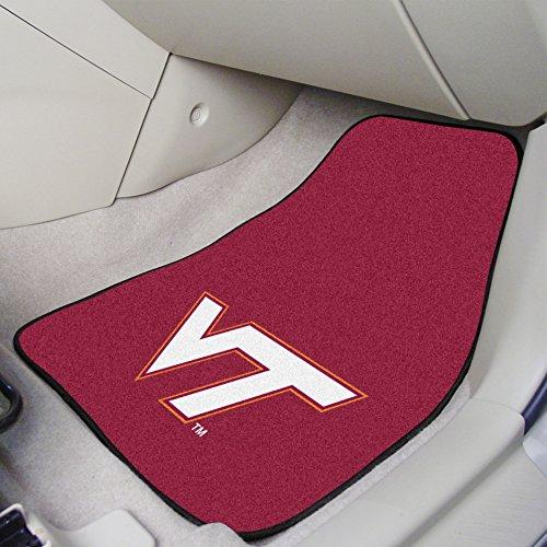 (FANMATS NCAA Virginia Tech Hokies Nylon Face Carpet Car)