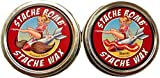 Stache Bomb Stache Wax- Moustache Wax From Maine- Twin Pack 2 tin bundle