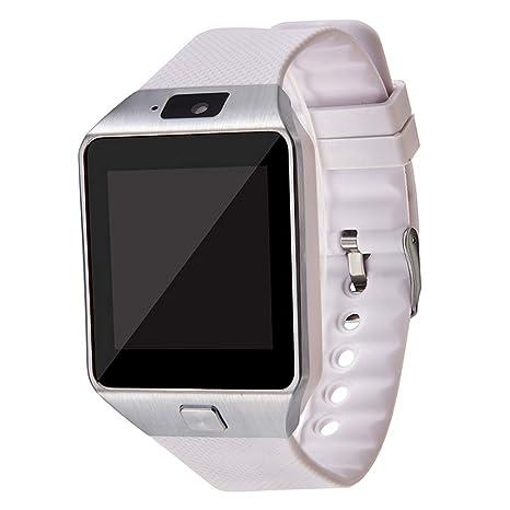 Amazon.com: Smart watch Fitness Tracker DZ09, Bluetooth ...