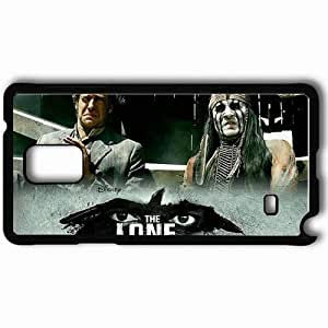 Personalized Samsung Note 4 Cell phone Case/Cover Skin 2013 The Lone Ranger Movie Black hjbrhga1544