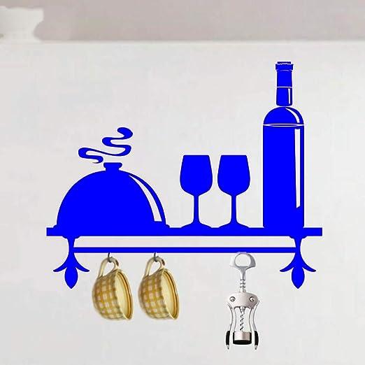 xingbuxin Etiqueta de la Pared de la Cocina Estante Patrón Vinilo ...