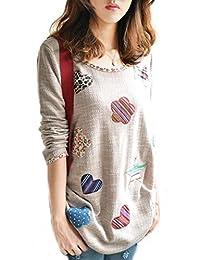 Women Oversized Winter Knit Pullover Jumper Loose Sweater Knitwear Top Blouse