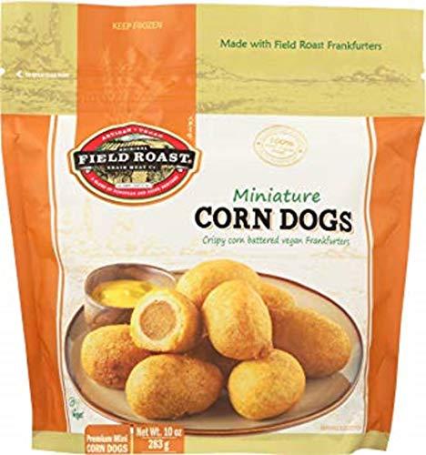Fieldroast Premium Miniature Corn Dogs, 10 Ounce (Pack of 8)