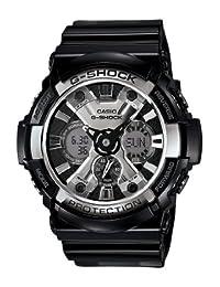 Casio Men's GA200BW-1A G-Shock Magnetic Resistant Black Resin Digital Watch