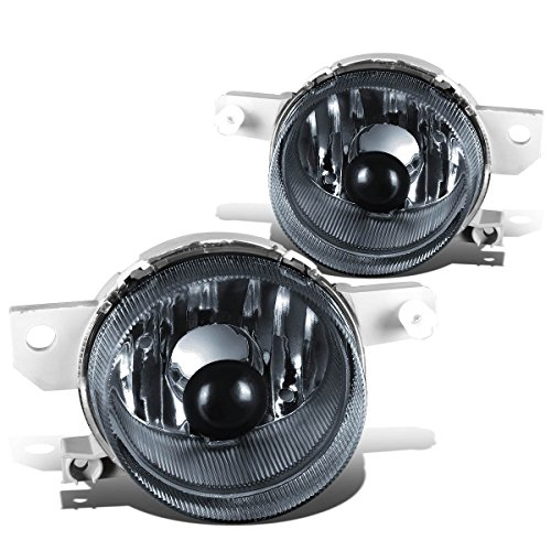 DNA MOTORING FL-ZTL-125-SM Front Bumper Fog Light, Driver and Passenger Side Del Sol 3 Light