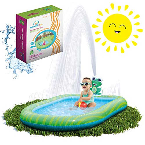 🥇 Splashin'kids 3 in 1 Inflatable Sprinkler Pool for Kids