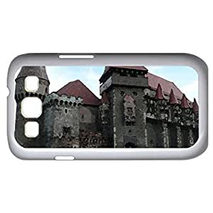 Corvine Castle (Medieval Series) Watercolor style - Case Cover For Samsung Galaxy S3 i9300 (White)