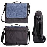 Nintendo Switch Travel bag, iDudu Portable Protective Messenger Bag Shoulder Bag for Nintendo Switch (black)