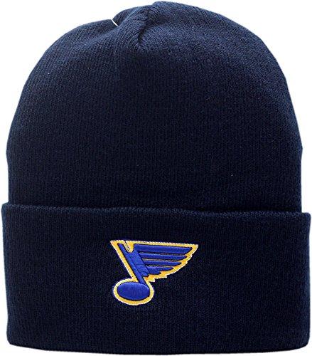 St. Louis Blues Knit Hat Cuffed Logo Block 11786