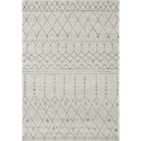 Farmhouse 315 distressed vintage style new area rug large boho (110 x 211 door mat size)