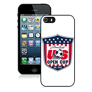 Personalized USA Soccer 1 iPhone 5 5s 5th Generation Phone Case in Black
