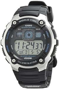 Casio Analogue-Digital Silver Dial Men's Watch - AE-2000W-1AVDF
