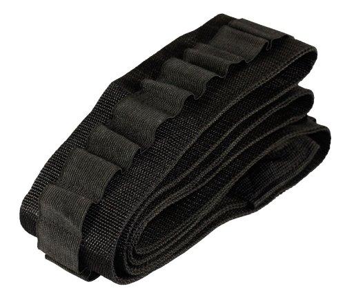 [Aim Sports Shotgun Shell 50 Rounds Bandolier, Small, Black] (Bandolier Belt)