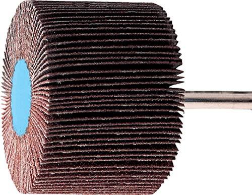 PFERD 45192 2'' x 1-1/2'' Mounted Flap Wheel 1/4'' Shank - Aluminum Oxide - (10pk)