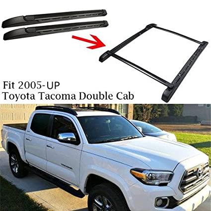 Amazon Com Outdoordeal Roof Rack Side Rails Bars For 2005 2015