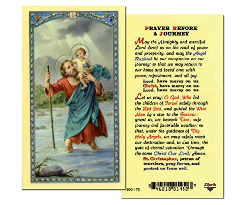 (Prayer Before A Journey Prayer Card- Pack of 25 )