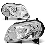 hhr headlight assembly - For 06-11 Chevy HHR Chrome Housing Clear Corner Headlight/Lamps - Pair