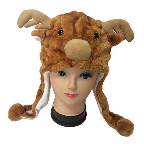 amaletPlay 着ぐるみ 帽子 動物 シリーズ トナカイ