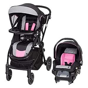 Baby Trend City Clicker Pro Travel System, Soho Pink